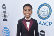 Actor Miles Brown attends the 48th NAACP Image Awards at Pasadena Civic Auditorium on February 11, 2017 in Pasadena, California.