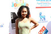 Laya DeLeon Hayes attends the 4th Annual Say NO Bullying Festival at Griffith Park on October 05, 2019 in Los Angeles, California.