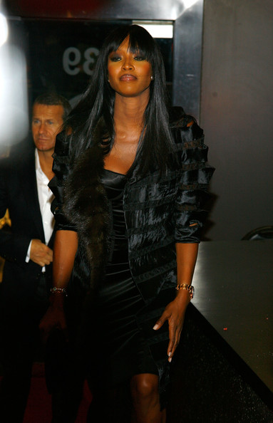 Naomi Campbell attends the 4th annual Thurgood Marshall College Fund Front Row Fashion Show at the Roseland Ballroom on October 24, 2009 in New York City.