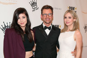 Actress Briana Cuoco , Paw Works Celebrity Ambassador Brad Goreski and actress Ashley Jones attend the James Paw 007 Ties & Tails Gala at the Four Seasons Westlake Village on March 10, 2018 in Westlake Village, California.