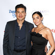 Mario Lopez and Courtney Laine Mazza Photos