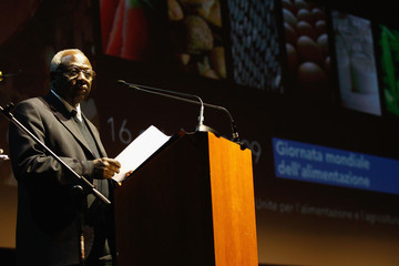 Jacques Diouf The 4th Rome Film Festival: FAO World Food Day Event