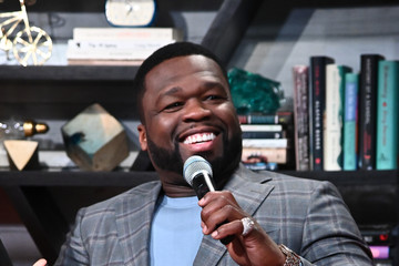 """50 Cent Celebrities Visit BuzzFeed's """"AM To DM"""" - February 11, 2020"""