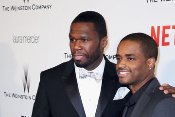 50 Cent Larenz Tate The Weinstein Company and Netflix Golden Globes Party — Part 2