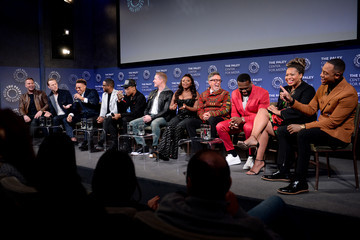 50 Cent Larenz Tate Power Series Finale Episode Screening At Paley Center