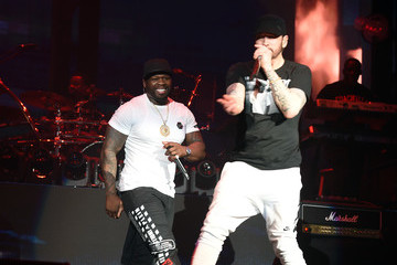 50 Cent 2018 Coachella Valley Music And Arts Festival - Weekend 1 - Day 3