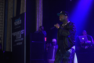 50 Cent Power 105.1 Breakfast Club Anniversary Party Presented by Verizon