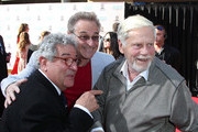 """(L-R) Actors Michael Tucci, Barry Pearl and Robert Morse attend the 2015 TCM Classic Film Festival Opening Night Gala 50th anniversary screening of """"The Sound Of Music""""  at TCL Chinese Theatre IMAX on March 26, 2015 in Hollywood, California."""