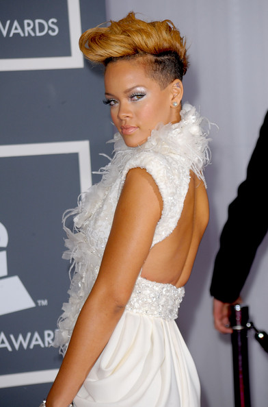 Rihanna Prom Hairstyle Ideas 2010