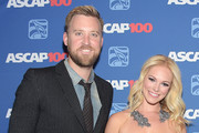 Charles Kelley of Lady Antebellum and Cassie McConnell attend the 52nd annual ASCAP Country Music awards at Music City Center on November 3, 2014 in Nashville, Tennessee.