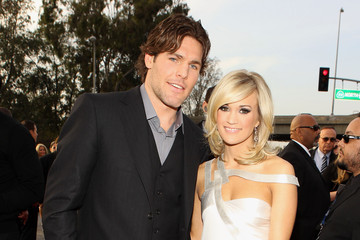 Mike Fisher Carrie Underwood 52nd Annual GRAMMY Awards - Arrivals