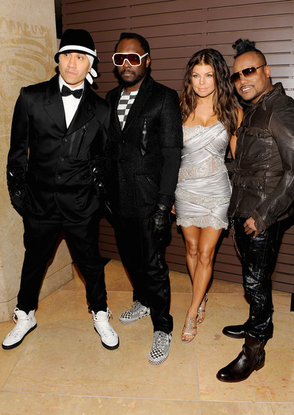 Singers Taboo, will.i.am, Fergie and apl.de.ap of The Black Eyed Peas arrive at the 52nd Annual GRAMMY Awards - Salute To Icons Honoring Doug Morris held at The Beverly Hilton Hotel on January 30, 2010 in Beverly Hills, California.