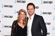 Actor Charles Esten (R) and Patty Hanson attend the 53rd annual ASCAP Country Music awards at the Omni Hotel on November 2, 2015 in Nashville, Tennessee.