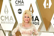 (FOR EDITORIAL USE ONLY) Dolly Parton attends the 53rd annual CMA Awards at the Music City Center on November 13, 2019 in Nashville, Tennessee.