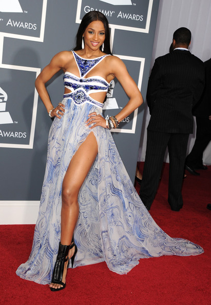 Singer Ciara arrives at The 53rd Annual GRAMMY Awards held at Staples Center on February 13, 2011 in Los Angeles, California.