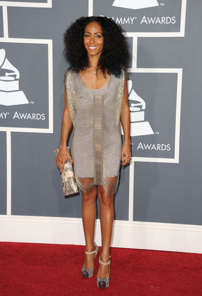 Actress/singer Jada Pinkett Smith arrive at The 53rd Annual GRAMMY Awards held at Staples Center on February 13, 2011 in Los Angeles, California.