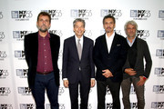 "Director Nanni Moretti, Bill Lee, actor John Turturro and Domenico Procacci attend the  53rd New York Film Festival - ""Mia Madre"" Screening And Q&AAlice Tully Hall, Lincoln Center on September 27, 2015 in New York City."