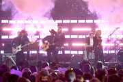 Miranda Lambert (R) performs onstage during the 54th Academy Of Country Music Awards at MGM Grand Garden Arena on April 07, 2019 in Las Vegas, Nevada.