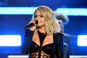 Miranda Lambert performs onstage during the 54th Academy Of Country Music Awards at MGM Grand Garden Arena on April 07, 2019 in Las Vegas, Nevada.