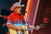 (FOR EDITORIAL USE ONLY) Jon Pardi performs onstage during the The 54th Annual CMA Awards at Nashville's Music City Center on Wednesday, November 11, 2020 in Nashville, Tennessee.