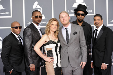 Saunders Sermons The 54th Annual GRAMMY Awards - Arrivals