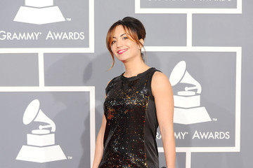 Michelle Holme The 54th Annual GRAMMY Awards - Arrivals