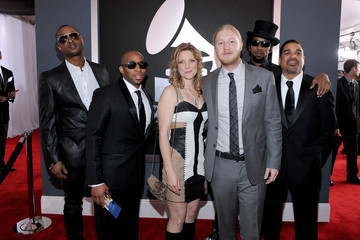 Saunders Sermons The 54th Annual GRAMMY Awards - Red Carpet