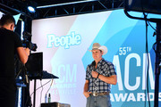 Jon Pardi speaks during an interview at virtual radio row during the 55th Academy of Country Music Awards at Gaylord Opryland Resort & Convention Center on September 15, 2020 in Nashville, Tennessee. (Photo by Jason Davis/Getty Images for ACM)