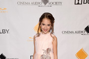 Julia Butters attends the 55th Annual Cinema Audio Society Awards at InterContinental Los Angeles Downtown on February 16, 2019 in Los Angeles, California.