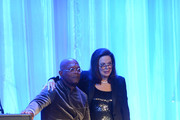 Samuel L. Jackson and Wendy Goldberg attend the 55th Annual Women's Guild Cedars-Sinai Gala held on November 13, 2012 in Beverly Hills, California.