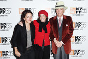 "Catherine Talese, Nan A. Talese and Gay Talese attend a screening of ""Voyeur"" during the 55th New York Film Festival at The Film Society of Lincoln Center, Walter Reade Theatre on October 4, 2017 in New York City."