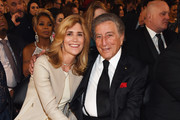 Susan Benedetto and recording artist Tony Bennett attend The 57th Annual GRAMMY Awards at the STAPLES Center on February 8, 2015 in Los Angeles, California.