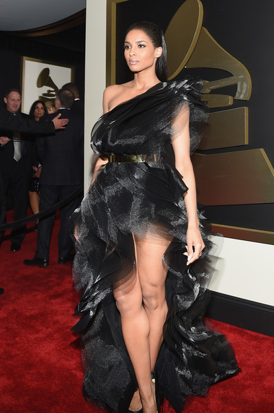 Recording Artist Ciara attends The 57th Annual GRAMMY Awards at the STAPLES Center on February 8, 2015 in Los Angeles, California.
