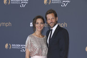 (L-R) Kerry Norton and Jamie Bamber attend the closing ceremony of the 57th Monte Carlo TV Festival on June 20, 2017 in Monte-Carlo, Monaco.