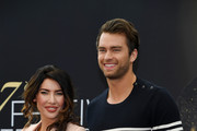 Jacqueline MacInnes Wood and Pierson Fode from 'The bold and the beautiful'  attend a photocall during the 57th Monte Carlo TV Festival : Day 3 on June 18, 2017 in Monte-Carlo, Monaco.