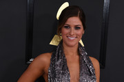 Cassadee Pope arrives for the 59th Grammy Awards pre-telecast on February 12, 2017, in Los Angeles, California.  / AFP / Mark RALSTON
