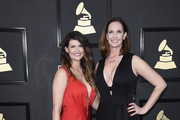 Art directors Shauna Dodds and Sarah Dodds attend The 59th GRAMMY Awards at STAPLES Center on February 12, 2017 in Los Angeles, California.