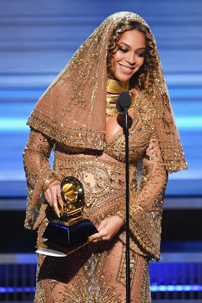 Beyonce Knowles Photos Photos 59th Grammy Awards Show