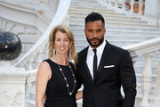 Rory Kennedy and Ricky Whittle attend a cocktail during the 59th Monte Carlo TV Festival on June 16, 2019 in Monaco, Monaco.