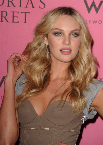 Candice Swanepoel Victoria's Secret Supermodel Candice Swanepoel arrives at ...