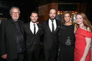 (L-R) Actors Michael Caton, Daniel MacPherson, Angus Sampson, Rachel Griffiths and Miranda Otto attend the 5th AACTA International Awards at Avalon Hollywood on January 29, 2016 in Los Angeles, United States.
