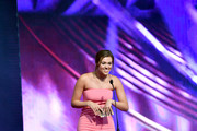 Sadie Robertson speaks onstage at the 5th Annual KLOVE Fan Awards at The Grand Ole Opry on May 28, 2017 in Nashville, Tennessee.