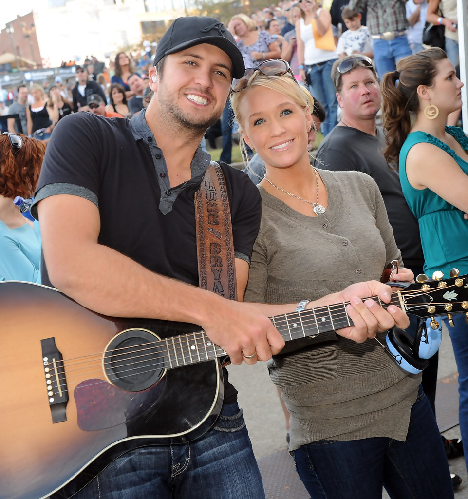 Luke bryan and caroline bryan photos photos 5th annual for How many kids does luke bryan have