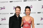 Matthew Morrison (L) and wife Renee Morrison attend the 5th Annual NRF Foundation Gala at the Sheraton New York Times Square on January 13, 2019 in New York City.