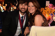 Dave Haywood and Kelli Cashiola attend the 60th Annual BMI Country Awards at BMI on October 30, 2012 in Nashville, Tennessee.