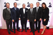 Darrell Friedman, CEO Republic Records Monty Lipman,  President's Merit Award Winner Allen Grubman, President and CEO, Recording Academy, Board Chair, GRAMMY Museum® Neil Portnow, 2018 Entertainment Law Initiative Service award recipient Michael Reinert, and Laura Segura Mueller attend The Recording Academy™'s 20th annual Entertainment Law Initiative® Event & Scholarship Presentation on January 26, 2018 at New World Stages at Worldwide Plaza in New York City. For more information, visit www.grammy.com/entertainment-law-initiative.