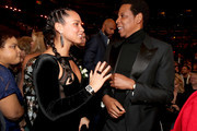 Recording artists Alicia Keys and Jay Z attend the 60th Annual GRAMMY Awards at Madison Square Garden on January 28, 2018 in New York City.