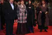 (L-R) Actor Gerard Depardieu, actress Miss Ming, actress Isabelle Adjani and actress Yolande Moreau attend the 'Mammuth' Premiere during day nine of the 60th Berlin International Film Festival at the Berlinale Palast on February 19, 2010 in Berlin, Germany.