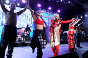 Rozonda 'Chilli' Thomas and Tionne 'T-Boz' Watkins of TLC perform onstage at the GRAMMY Celebration durring the 61st Annual GRAMMY Award at Staples Center on February 10, 2019 in Los Angeles, California.