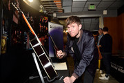 James Blake with the GRAMMY Charities Signings during the 61st Annual GRAMMY Awards at Staples Center on February 08, 2019 in Los Angeles, California.